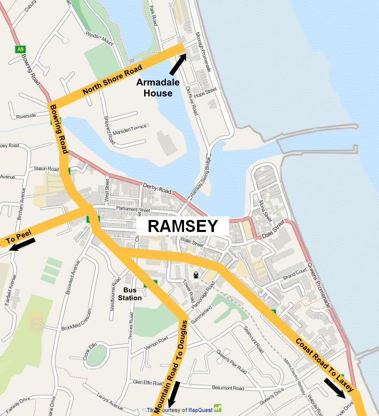 Superior Accommodation in Ramsey Armadale House